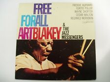 ART BLAKEY - FREE FOR ALL - BLUE NOTE BST84170 - 1984 French Issue