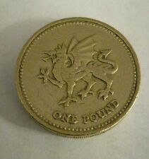 2000 Welsh Dragon £1 One Pound Coin Rare