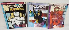 Lotto rivista NOVA EXPRESS,Granata Press 1991[fumetti,Baldazzini,Saudelli,Gibson