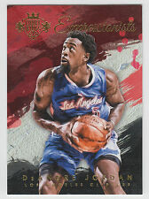 DEANDRE JORDAN 2015-16 Panini Court Kings Basketball Expressionists #10 Clippers