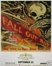 "FALL OUT BOY ""SAVE ROCK AND ROLL ARENA TOUR 2013"" SAN DIEGO CONCERT POSTER-Punk"