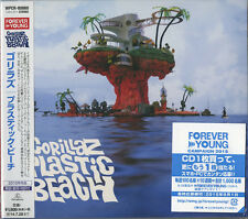 GORILLAZ-PLASTIC BEACH-JAPAN CD-EXTRA D20