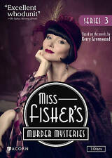 Miss Fisher's Murder Mysteries: Series 3 DVD, Free Shipping US&Canada