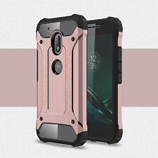 Shockproof TPU+PC 2in1 Hybrid Case Cover For Motorola Moto G4/G4 Plus/G4 Play