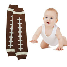 1Pair US Football Baby Arm Leg Warmers Cotton Toddler Boys Girls Socks Legging