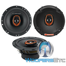 """CADENCE QRS65 6.5"""" 80W RMS 2-WAY SILK DOME TWEETERS COAXIAL CAR SPEAKERS NEW"""
