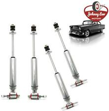 Front and Rear Suspension Road Racing Sport Shock Kit for 1955-1957 Chevy