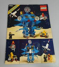 LEGO® Bauanleitung Space Classic 6951 Robot Command Center ungelocht Anleitung