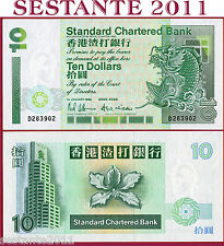 HONG KONG - 10 DOLLARS 1.1. 1993 - Standard Chartered Bank -  P 284a - FDS / UNC
