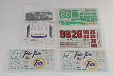 Lot of 5 Unused Nascar Model Car Kit DECALS  R8136