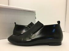 Robert Clergerie Soufa Black Leather Women's Flats Loafer Slip On Shoes 38.5 / 8