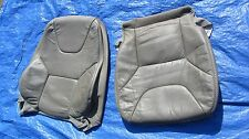 01-04 Volvo XC70 Cross Country OEM Grey Oak Driver Left Side Leather Seat Cover