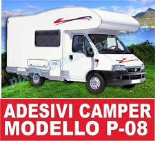 KIT ADESIVI CAMPER P08 STICKERS TUNING ARCA LAIKA MC LOUIS ELNAGH RIMOR IVECO