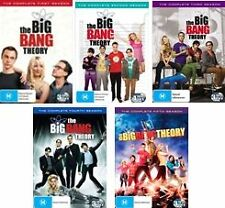 THE BIG BANG THEORY : SEASON 1+2+3+4+5 : NEW DVD