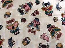COUNTRY SEWING ANGEL--COTTON FABRIC  --BY THE YARD
