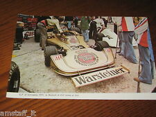 (38)*=G.P. F.1 GERMANIA 1975 ERTL HESKETH=RITAGLIO=CLIPPING==FOTO=