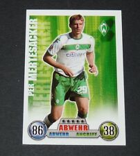 PER MERTESACKER WERDER BREMEN TOPPS ATTAX PANINI FOOTBALL BUNDESLIGA 2008-2009