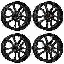 4x Wolfrace Assassin Gloss Black Alloy Wheels - 4x100 | 20x8.5"