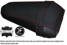 GRIP & CARBON DARK RED ST CUSTOM FITS YAMAHA YZF 1000 R1 15-16 REAR SEAT COVER