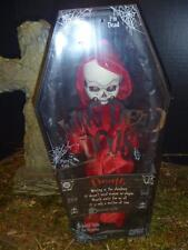 Living Dead Doll RED DEATH Variant Red Glows in Dark Grim Reaper