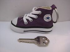 Converse All Star Keychain Chuck Taylor Key Chain PURPLE 100% Authentic