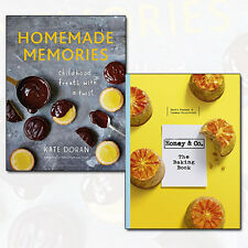 Honey & Co The Baking Book, Homemade Memories Childhood Treats 2 Books Set NEW