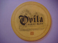 Beer Coaster Mat ~ SIERRA NEVADA - New Clairvaux Collaboration: Ovila Abbey Ales