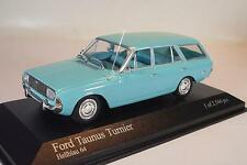 Minichamps 1/43 Ford Taunus Turnier hellblau OVP #1675