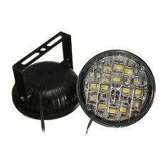 2* 12V 18LED White Waterproof Car Fog Lamp Daytime Running Lights DRL Universal