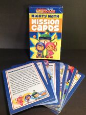 Team Umizoomi Mighty Math Mission Cards Game