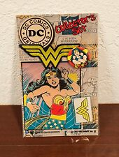 DC COMICS ORIGINALS WONDER WOMAN PIN-KEYCHAIN-CLOTH PATCH COLLECTOR'S SET MOC