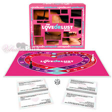 Love Or Lust Adult Sex Board Card Erotic Game for Couples