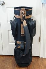 Bag Boy Hanover Golf Cart Bag Black and Brown