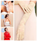Sexy New Women Bridal Evening Wedding Party Prom Driving Short& Long Lace Gloves