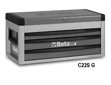 Beta Tools C22S-G 3 Drawer Tool Top Box Cabinet Chest Grey Colour