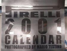CALENDARIO - PIRELLI  CALENDAR 2001 - MARIO TESTINO [TV]