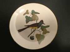 """Gorham American Preservation Guild - Crested Fly Catcher Plate - ONE  1  10 5/8"""""""