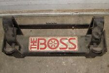 Vintage Boss Snow Plow RT Pushbeam 1987 And Earlier GM Snowplow Chevy