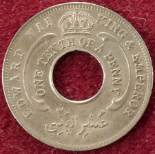 British West Africa Tenth of a Penny 1908 (B2006)
