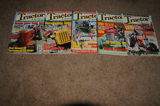 TRACTOR AND MACHINERY MAGAZINES (5 for sale) August 2004-December2004