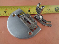 Single Needle Sewing Machine Heavy Duty Needle Plate,Feed Dog,Presser Foot Set
