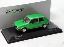 VW VOLKSWAGEN GOLF 1 GLS RABBIT 1980 SANTOS GREEN MINICHAMPS 400055100 1/43 GRUN