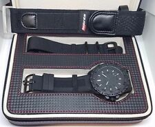 ARMOURLITE ECLIPSE WATCH TRITIUM100 BLACK OUT ISO211 (3 STRAPS SELLS $549 POLICE