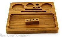 RAW Wooden Bamboo Rolling Tray