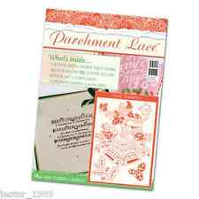 Tattered Lace Parchment Magazine - Christmas 2016 & FREE Florentine Bells Grid