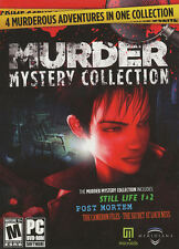 MURDER MYSTERY COLLECTION Still Life 1 & 2, Post Mortem & Loch Ness 4x PC GAMES