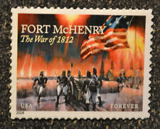 2014USA  #4921  Forever - Fort McHenry - Mint NH   - war of 1812