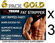3x T5 Max Strength Fat Stripper Weight Loss Fat Burner Slimming Lean Muscle Abs