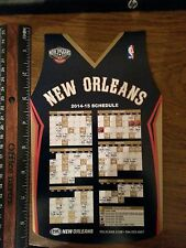 NEW ORLEANS PELICAN 2014-15 SEASON SCHEDULE MAGNET GIVEN OUT VS DALLAS ON 11/01