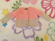 Baby Gap baby girl cardigan sweater 3-6 months old